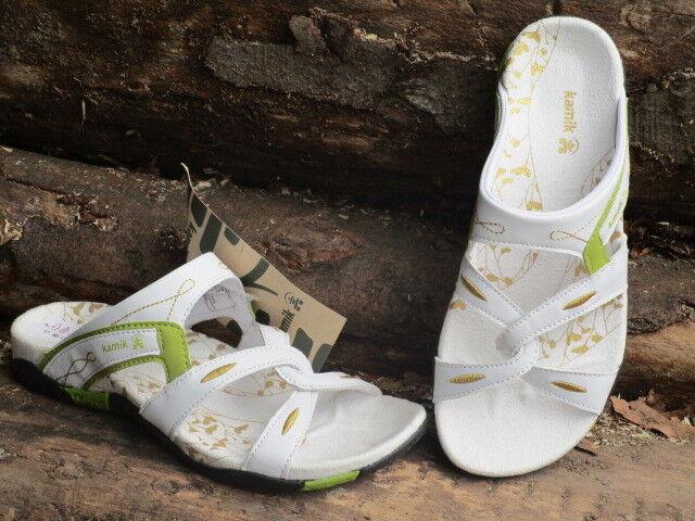 KAMIK Damen Pantoletten SANDALEN Sandalee auch für´s Wasser zur Auswahl weiß