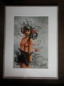 Photo-d-039-Art-Danielle-Tunstall-Grand-Format-signe-et-encadre-n-3