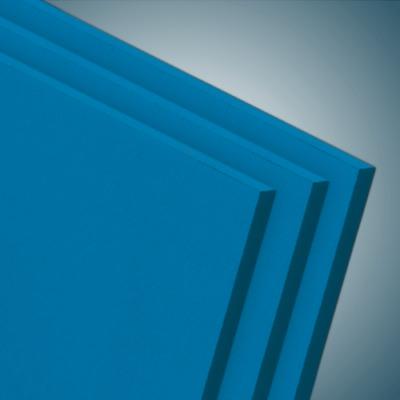 FOREX® Colour PVC-Hartschaumplatte Hellblau RAL5015 seidenmatt 5mm Stärke