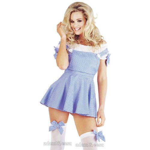 Damen Halloween Kostüm Größen XS M L XL Menge