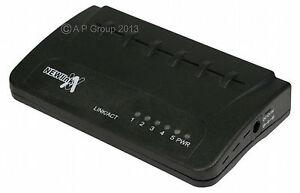 5-Port-Ethernet-Network-RJ45-Switch-Hub-Lan-cat5e-FREE-1ST-CLASS-SAME-DAY-POST