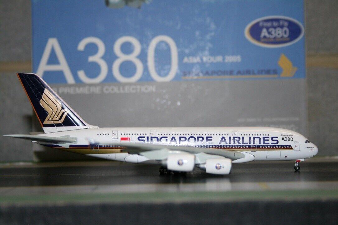 echa un vistazo a los más baratos Alas de dragón 1 1 1 400 Singapore Airlines Airbus A380-800  primer a volar  (55880B)  Garantía 100% de ajuste