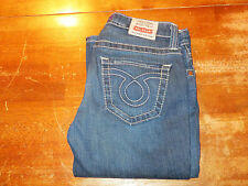 BIGSTAR CASEY LOW RISE JEANS  THICK WHITE STITCH (EUC) SIZE 28X34 VERY NICE