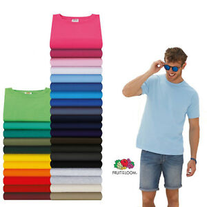Fruit-of-the-Loom-T-shirt-Valueweight-S-M-L-XL-XXL-XXXL-3XL-4XL-5XL-Sets-SHIRTS