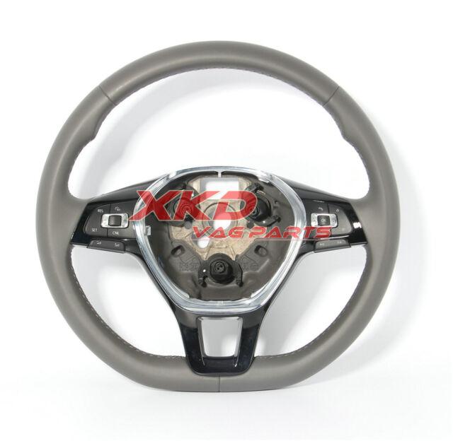 Light Grey Multifunction Steering Wheel W Cruise For Vw Jetta 6