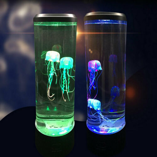 Modern Aquarium Jellyfish Mood Lamp Led Jellyfish Night Light Jellyfish Tank HOT