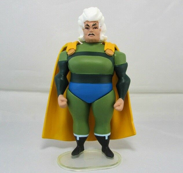Justice League Unlimited personnalisé Granny Goodness VERT OR variante
