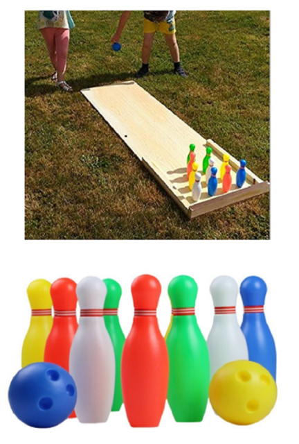 Kids Outdoor Toys Garden Activities Family Bowling Set Childrens Birthday Gift