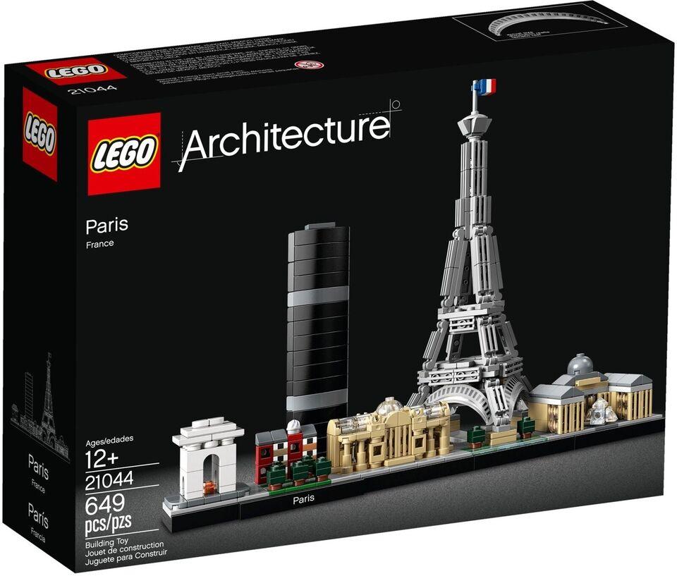 Lego Architecture, 21044 Paris Uåbnet