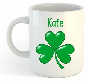 Kate-Shamrock-Personalised-Name-Mug-Irish-St-Patricks-Gift