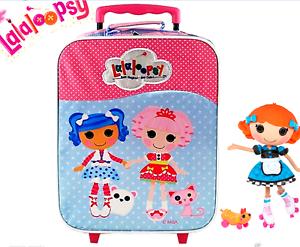 Lalaloopsy Bambine ROLLING TROLLEY VALIGIA bagaglio di viaggio con ruote Scuola Borsa