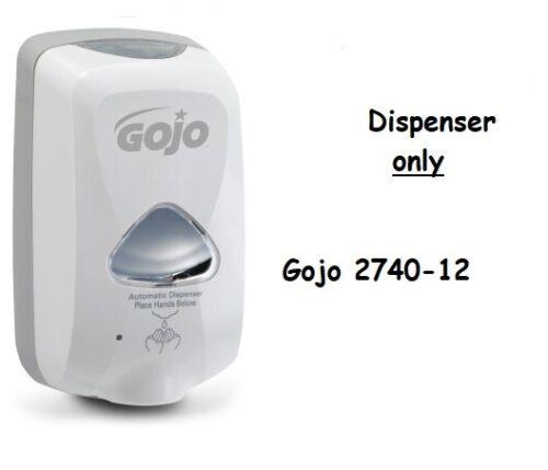 Touch-Free Dispenser tem # GOJ 2740-12 NEW GOJO TFX  Dispenser
