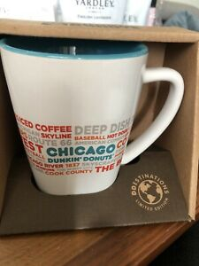 2016 BRAND NEW IN BOX Dunkin Donuts Ltd. Ed. Chicago Destinations 12 oz. Cup Mug
