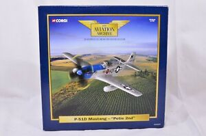 """1:72 Corgi The Aviation Archive P51D Mustang - """"Petie 2nd"""" AA32204"""