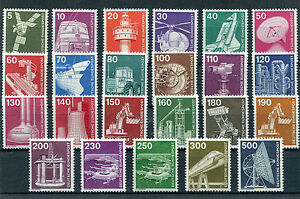 Bund-postfrisch-Industrie-und-Technik-BRD-komplett-846-859-990-994-MNH