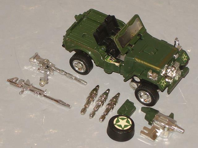 G1 TRANSFORMER AUTOBOT HOUND COMPLETE LOT   5 CLEANED