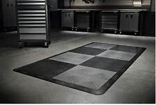 Gladiator Garage Flooring 32-Piece 12in x 12in Tread Plate Floor Tile Tiles NEW