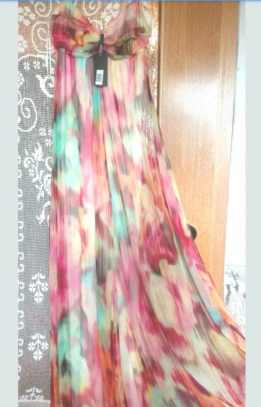 Ugli Sista Traum Maxi Kleid aus Seide NEU