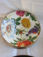 Mackenzie Childs Flower Market Enamel Breakfast Bowl - White - Mc14