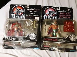 1995-Trendmasters-Tarzan-The-Epic-Adventures-Action-Figure-lot-Lord-of-Jungle