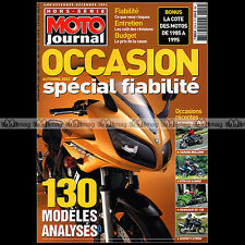 MOTO JOURNAL HS 2310 HORS-SERIE ★ FIABILITE OCCASIONS ★ 130 Modèles Edition 2003