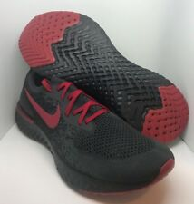 dee045fd4be25 item 6 Nike Epic React Flyknit iD Men s Running Shoe Black Gray Red Size  11.5 -Nike Epic React Flyknit iD Men s Running Shoe Black Gray Red Size 11.5
