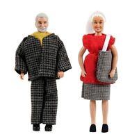 2 Puppen Oma+opa Puppenhaus Lundby Småland