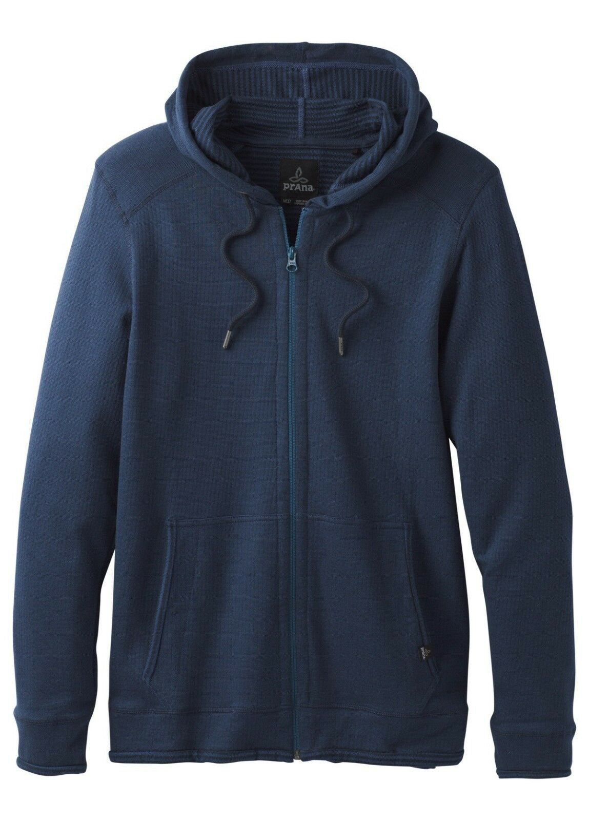 Prana Smith Full Zip Hoodie Men's Hoody for Men Equinox bluee