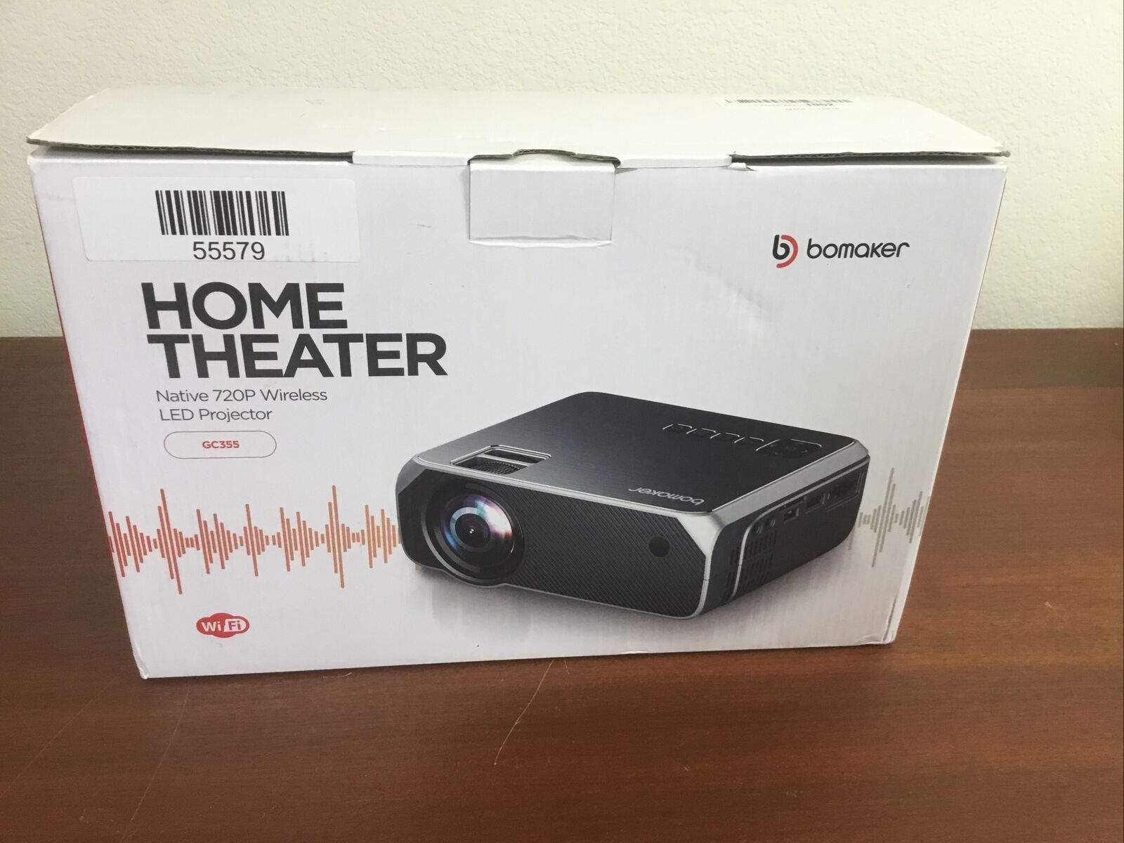 pcurran0429 Bomaker GC355, Wi-Fi Mini Projector(Black)