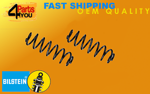 2x-BILSTEIN-Skoda-Fabia-Estate-I-II-VW-Fox-COIL-Springs-suspension-trasera-HQ