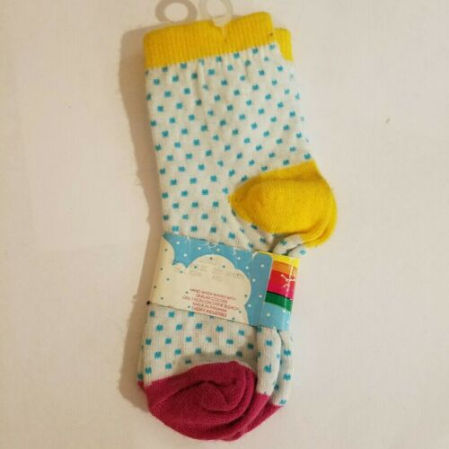 Details about  /Ankle Socks by Everfit Baby Girl Size 12-24M /& 2-3Y White Blue Polka Dots