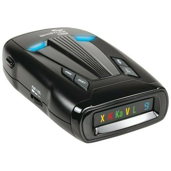 Whistler CR68 Laser/Radar Detector False Alert