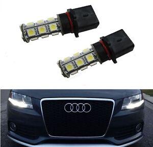 Audi A4 B8 B85 P13w Xenon White Smd Led Bulbs Drl Daytime