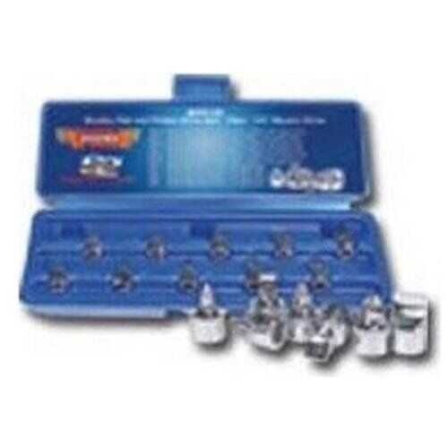 """Vim Products SFP10 10 Piece 1//4/"""" Square Drive Stubby Flat And Phillips Drive Set"""