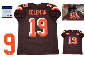 78877453b Corey Coleman SIGNED Jersey - PSA DNA - Cleveland Browns Autographed ...