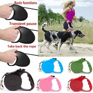 Cute Flexible Pet Dog Collar Leash Retractable Puppy Walking Traction Rope Excellent Quality Pet Products Leashes