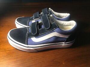 Kids Old Skool V Navy/white Size 1 | eBay