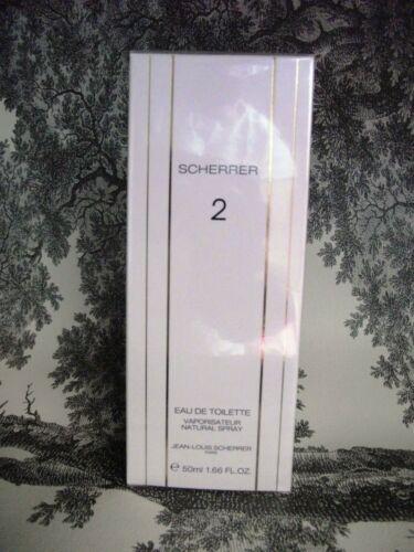 SCHERRER 2 EAU DE TOILETTE 50 ml NEU! OVP!  sLF7e pbWWn
