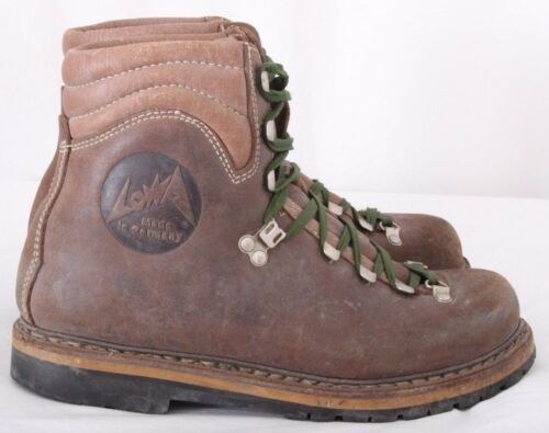 Lowa 9099 Vintage Mountaineering Stitched Climbing Trail Hiking Boots Men's US 6
