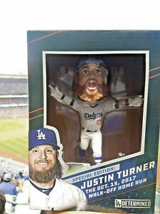 Justin-Turner-2018-LA-Dodgers-Walk-Off-Home-Run-Bobblehead-SGA-New-in-Clean-Box