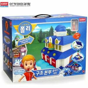 Robocar-Poli-Rescue-Center-Station-Play-Set-Headquarter-Animation-Toy-for-Child