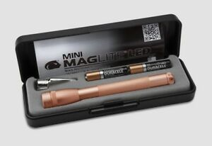 Mini-Maglite-2-Cell-aaa-LED-Flashlight-P32SV2-ROSE-GOLD-USA-Mothers-Day-Gift