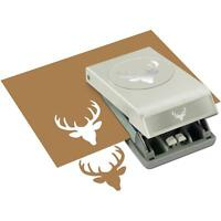 Deer Head Large 2 Slim Profile Paper Punch By Ek Success