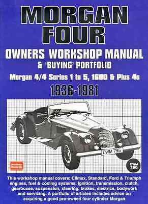 Morgan 4//4 and Plus 4 Owners Workshop Manual and Buying Portfolio 1936-1981 *NEW