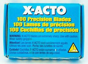 X-ACTO No.10 Curved Precision Blades 100 Pack X610 #10 Original XACTO