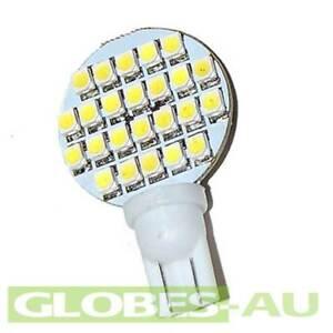 2x-12V-LED-T10-COOL-WHITE-24-SMD-Lamp-Bulb-Light-Wedge-Globe-Tent-Garden-Jayco