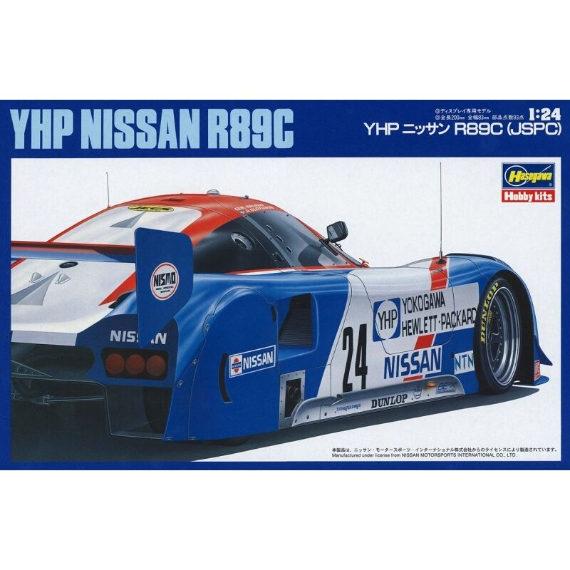 1 24 YHP Nissan R89C Limited Edition by Hasegawa  HSG20244