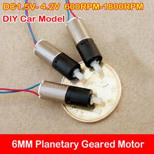 DC Brushless Motor Planetary Gear Motor 3V-6V//12V 24V Robot 10MM//22MM AHS
