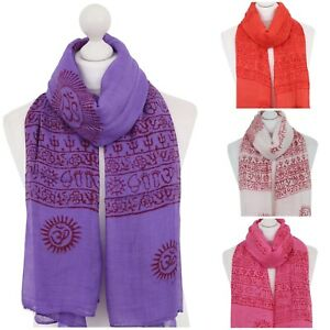 OM-Namah-Shivaya-Scarf-Wrap-Krishna-Buddha-Yoga-Meditation-Hindu-Prayer-Scarves