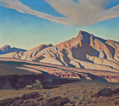 Home of the Desert Rat by Maynard Dixon   Paper Print Repro
